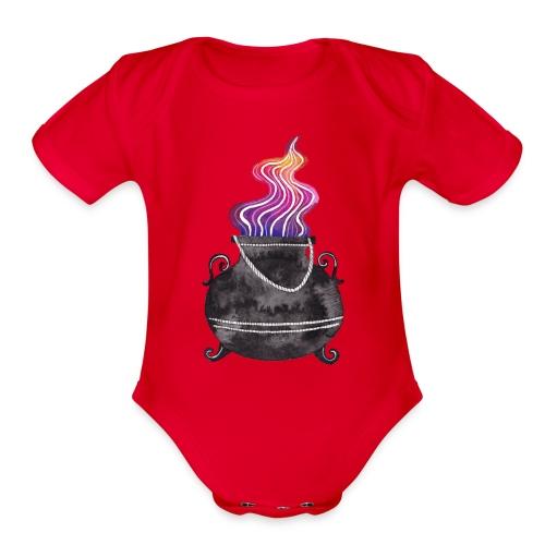 Cauldron - Organic Short Sleeve Baby Bodysuit