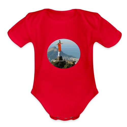 Pascal the Redeemer - Organic Short Sleeve Baby Bodysuit