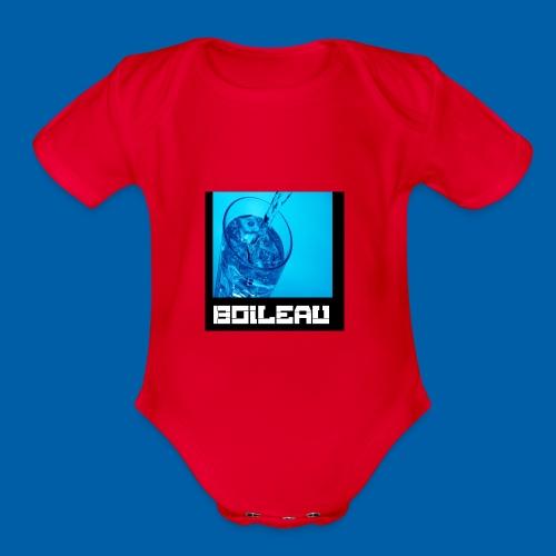 11 - Organic Short Sleeve Baby Bodysuit