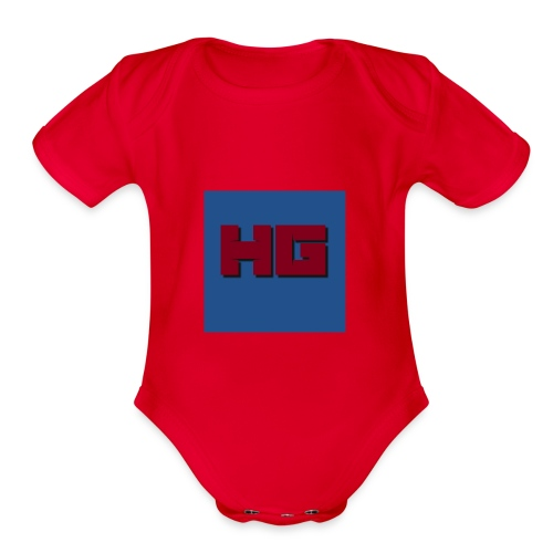 HG Merch - Organic Short Sleeve Baby Bodysuit