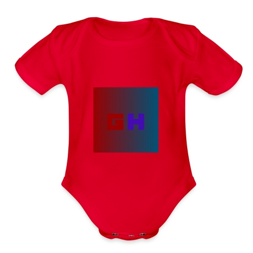 HG First Merch Buy Now - Organic Short Sleeve Baby Bodysuit
