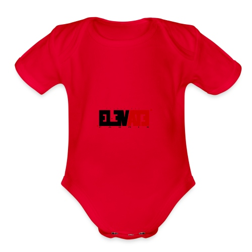 ELEVATE - Organic Short Sleeve Baby Bodysuit