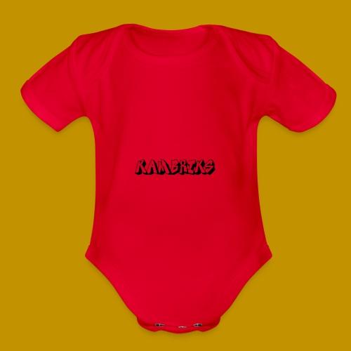 YBN Kambrik$ - Organic Short Sleeve Baby Bodysuit