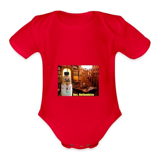 Doc hollandaise - Organic Short Sleeve Baby Bodysuit
