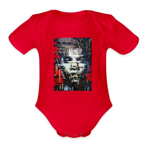 A look - Organic Short Sleeve Baby Bodysuit