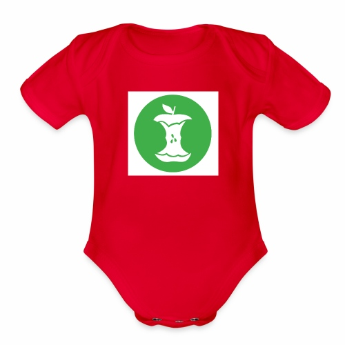 Recycle the Core - Organic Short Sleeve Baby Bodysuit