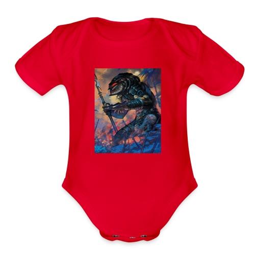 The Predator - Organic Short Sleeve Baby Bodysuit