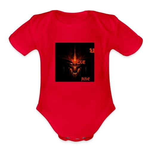 demons!! - Organic Short Sleeve Baby Bodysuit