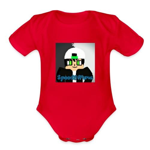 SpeedofPuma - Organic Short Sleeve Baby Bodysuit