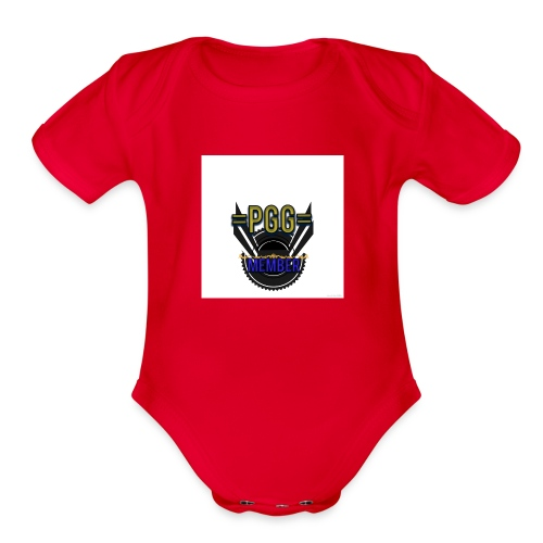 mystic_member_avatar - Organic Short Sleeve Baby Bodysuit