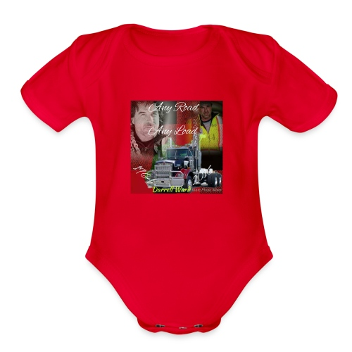 Anyroad anyload - Organic Short Sleeve Baby Bodysuit