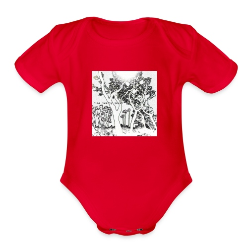 Nine Twenty Seven - Trees - Organic Short Sleeve Baby Bodysuit