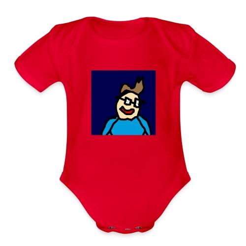 Official Luke Shirt - Organic Short Sleeve Baby Bodysuit