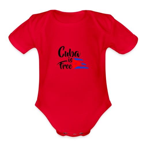 Fidel Castro - Organic Short Sleeve Baby Bodysuit