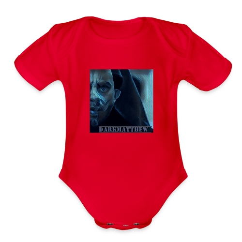 Dark Matthew - Organic Short Sleeve Baby Bodysuit