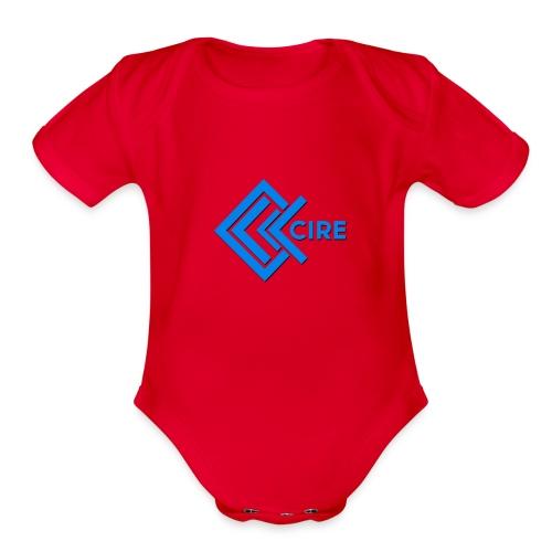 Cire Clothing - Organic Short Sleeve Baby Bodysuit
