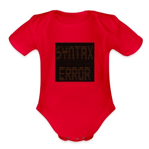 syntax error - Organic Short Sleeve Baby Bodysuit