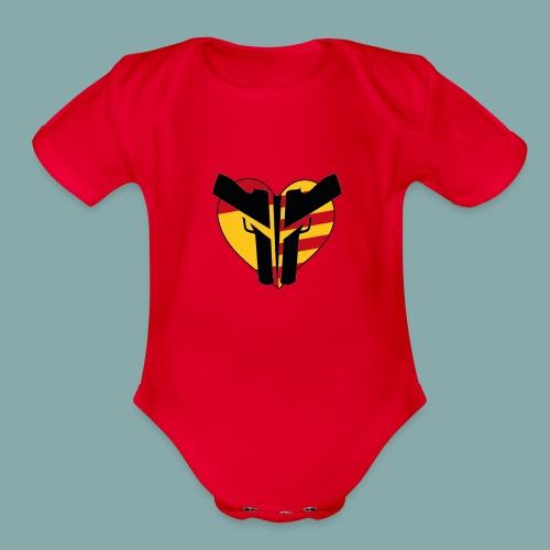 ESP/CAT Police - Organic Short Sleeve Baby Bodysuit