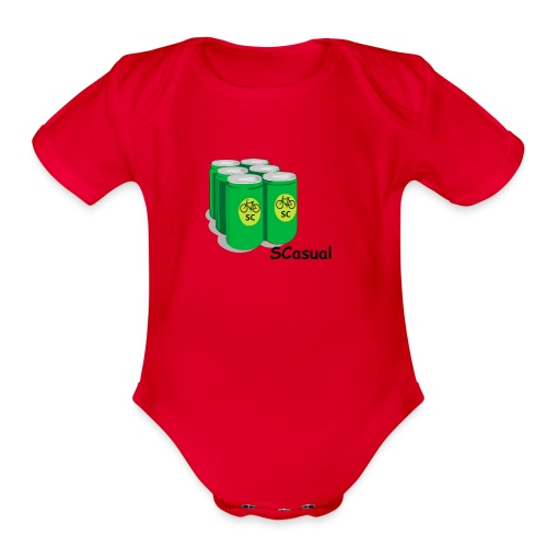 SCasual - Organic Short Sleeve Baby Bodysuit