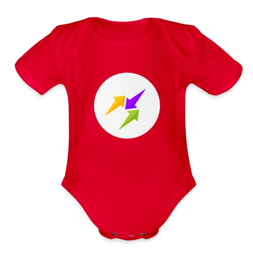 GosuTactics Logo - Organic Short Sleeve Baby Bodysuit