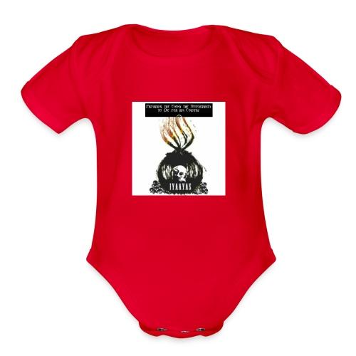 IYAAYAS - Organic Short Sleeve Baby Bodysuit