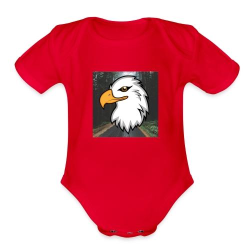 NixieSqwa Profile Pic - Organic Short Sleeve Baby Bodysuit