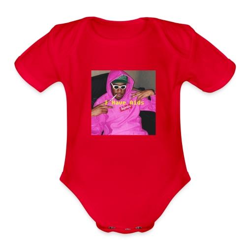 Ihaveaids - Organic Short Sleeve Baby Bodysuit
