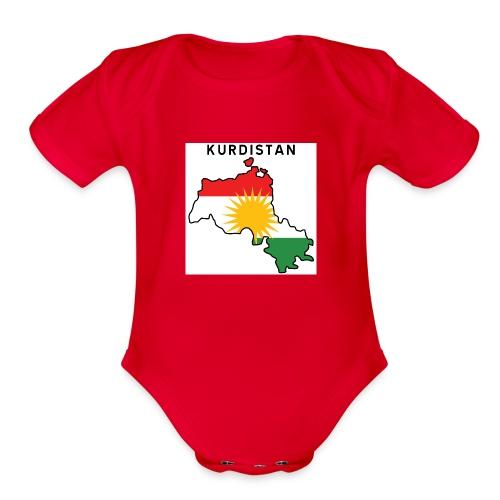 Kurdistan! - Organic Short Sleeve Baby Bodysuit