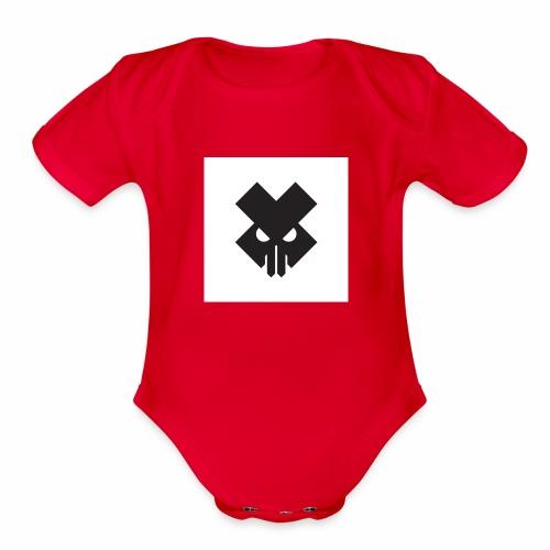 titanium1x0 - Organic Short Sleeve Baby Bodysuit