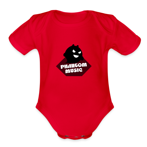 PHANTOM02 - Organic Short Sleeve Baby Bodysuit