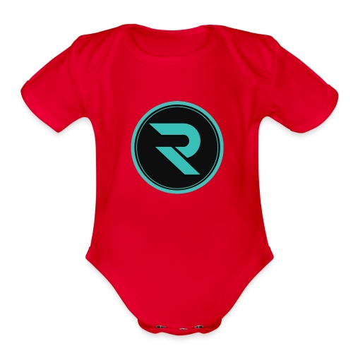 team roax - Organic Short Sleeve Baby Bodysuit