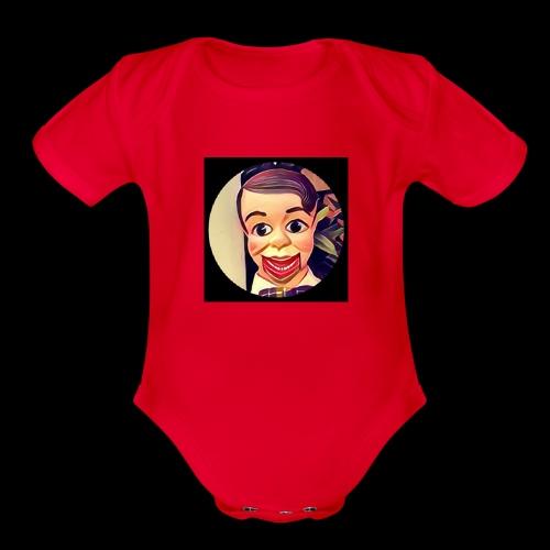 Archie logo xlarge image - Organic Short Sleeve Baby Bodysuit