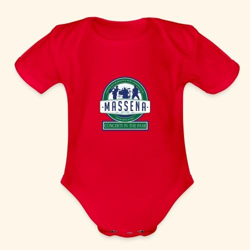 Massena CitP - Organic Short Sleeve Baby Bodysuit