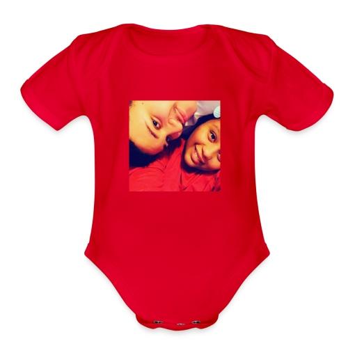 Oshiuna And Kyren - Organic Short Sleeve Baby Bodysuit