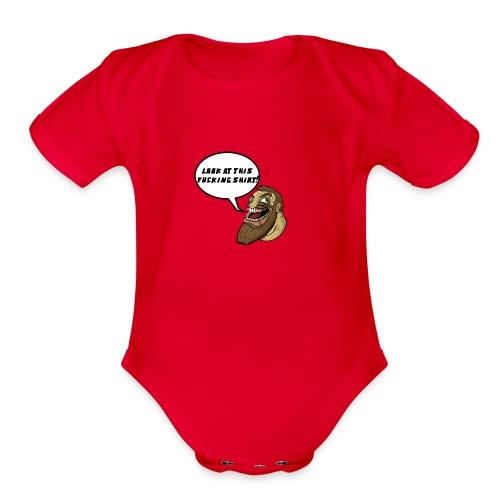 Chabbb! - Organic Short Sleeve Baby Bodysuit