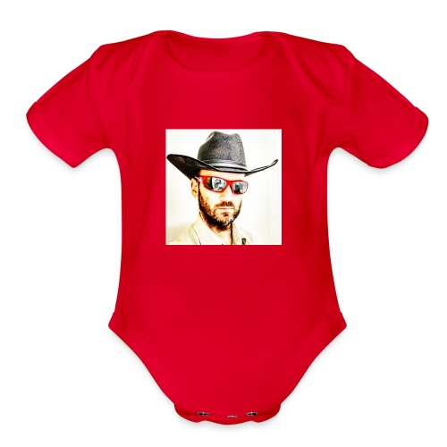 Merla Jerome t chirt - Organic Short Sleeve Baby Bodysuit
