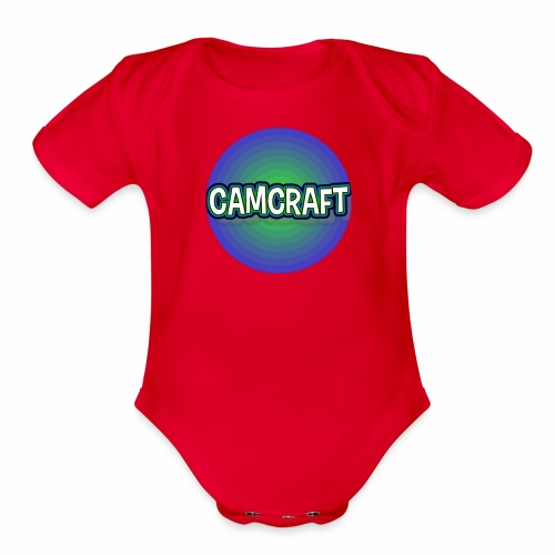 CamCraft Gaming - Organic Short Sleeve Baby Bodysuit