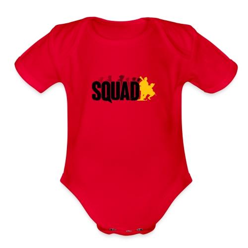 cv sqoud - Organic Short Sleeve Baby Bodysuit