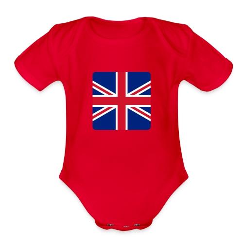 Australia - Organic Short Sleeve Baby Bodysuit