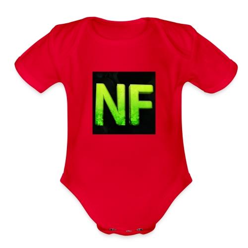 NorthFuze Merch - Organic Short Sleeve Baby Bodysuit