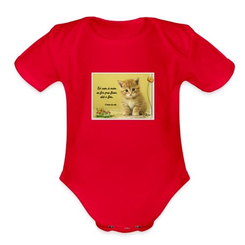 Frase - Organic Short Sleeve Baby Bodysuit