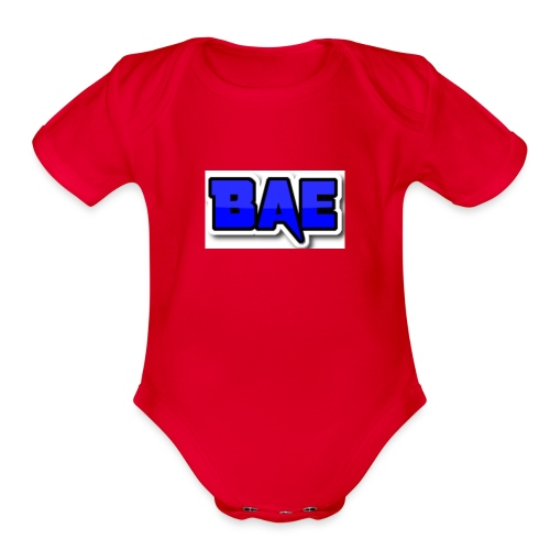 Bae boy shorts - Organic Short Sleeve Baby Bodysuit