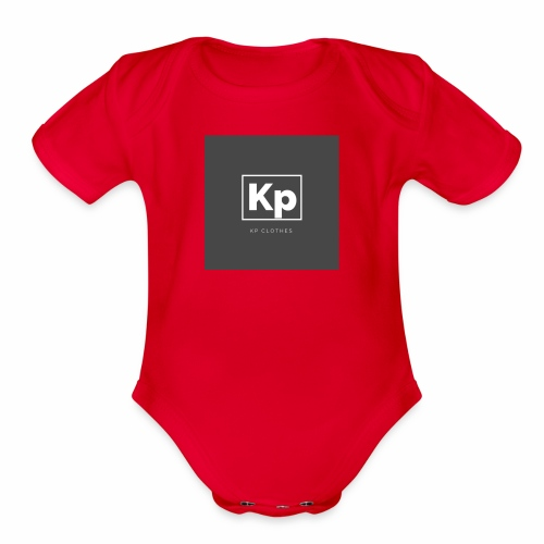 KP CLOTHES - Organic Short Sleeve Baby Bodysuit