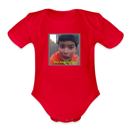 my merch - Organic Short Sleeve Baby Bodysuit