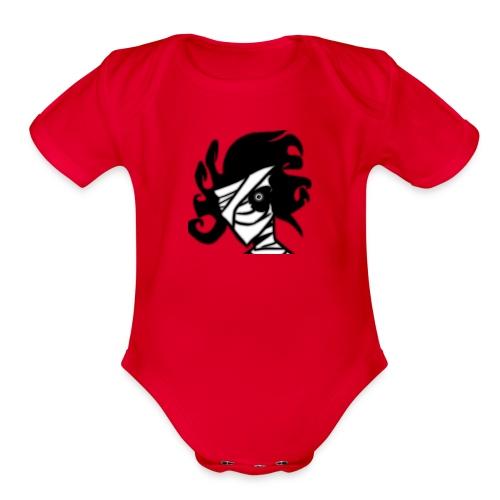 Chaos - Organic Short Sleeve Baby Bodysuit