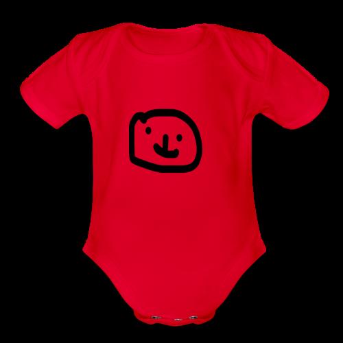 a2 - Organic Short Sleeve Baby Bodysuit
