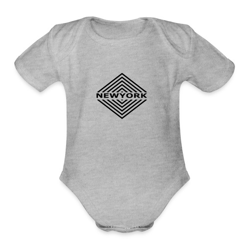 Newyork City by Design - Organic Short Sleeve Baby Bodysuit