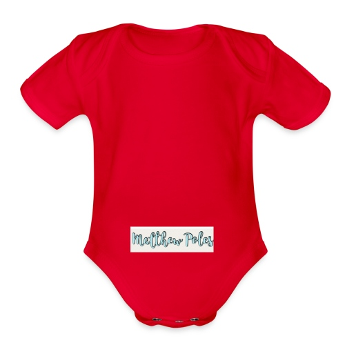 SUMMER COLLECTION - Organic Short Sleeve Baby Bodysuit