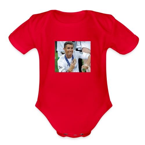Cristiano Ronaldo - Organic Short Sleeve Baby Bodysuit