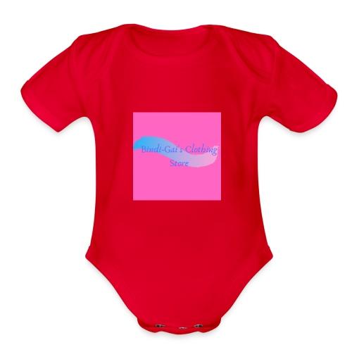 Bindi Gai s Clothing Store - Organic Short Sleeve Baby Bodysuit